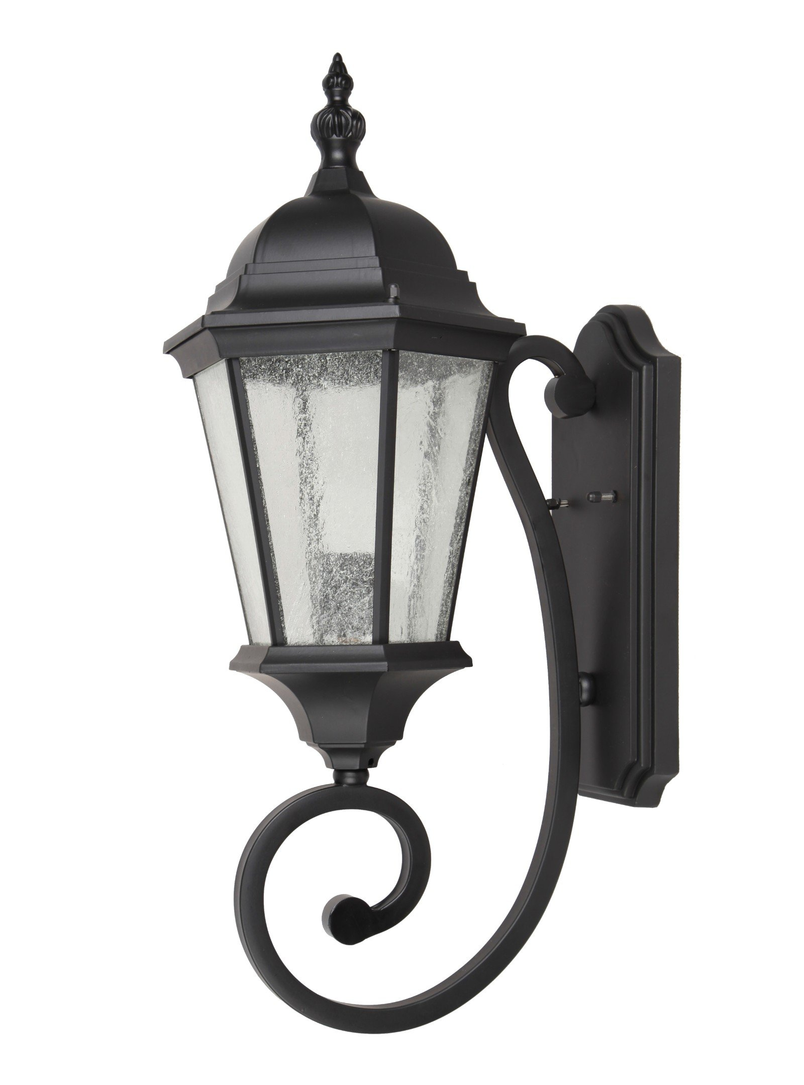 Elitco Lighting OD2601 Black-Light-Fixtures Outdoor Wall W8'' E12.25'' H24.5'' E26 100W