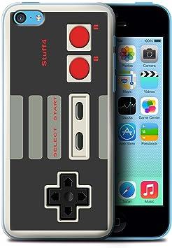 Stuff4 Coque pour Apple iPhone 5C Console (Jeux vidéo) Nintendo Désign Transparent Etui Housse Case Rigide Ultra Mince