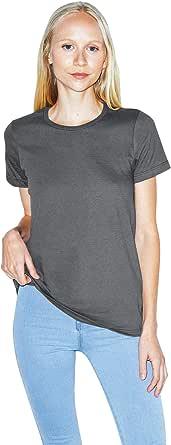 American Apparel Women's Fine Jersey Classic Short Sleeve Crewneck T-Shirt