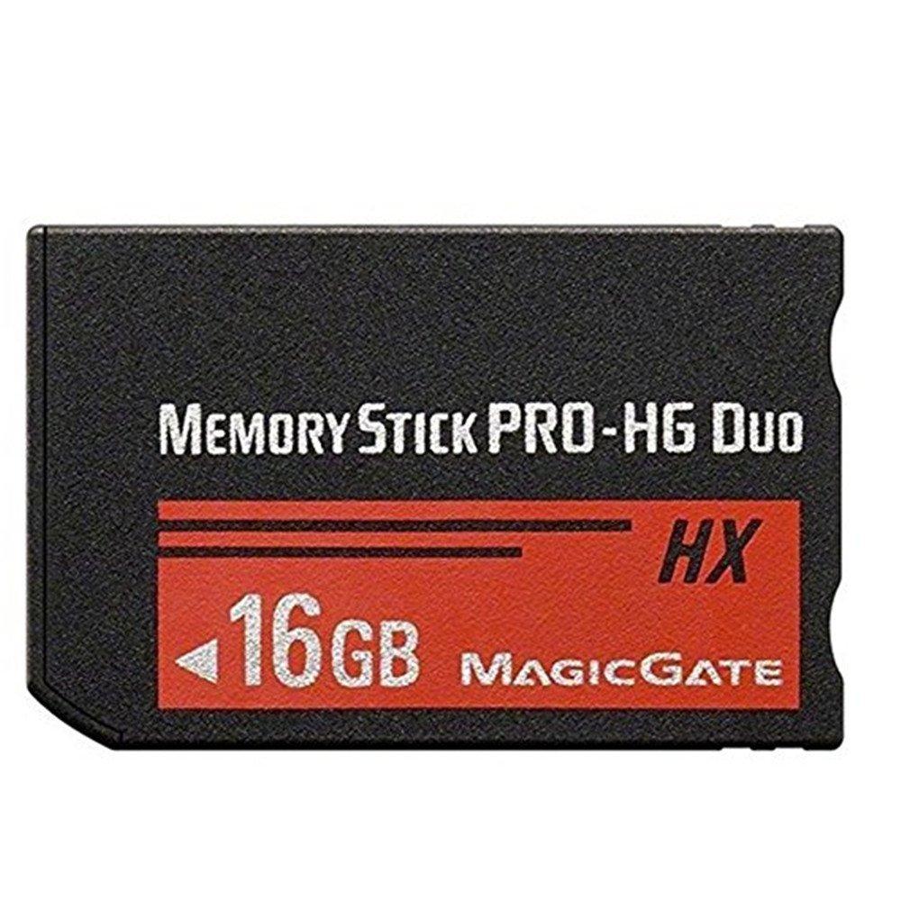 Original 16GB PRO-HG Duo HX Memory Stick MSHX16A (Black) PSP Accessories