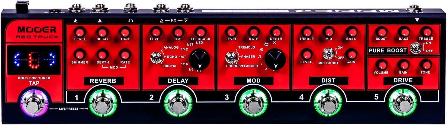 Mooer Redtruck - Pedal de efectos para guitarra