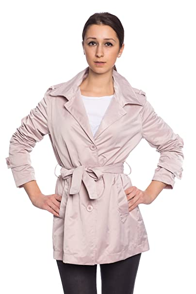 Mujer Para Gabardina 3 Trench 5385 Coat Entretiempo Abbino Colores fw1qXU4