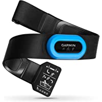 Garmin HRM-Tri - Correa para Monitor de Ritmo cardíaco, Color Negro (Negro/Azul)