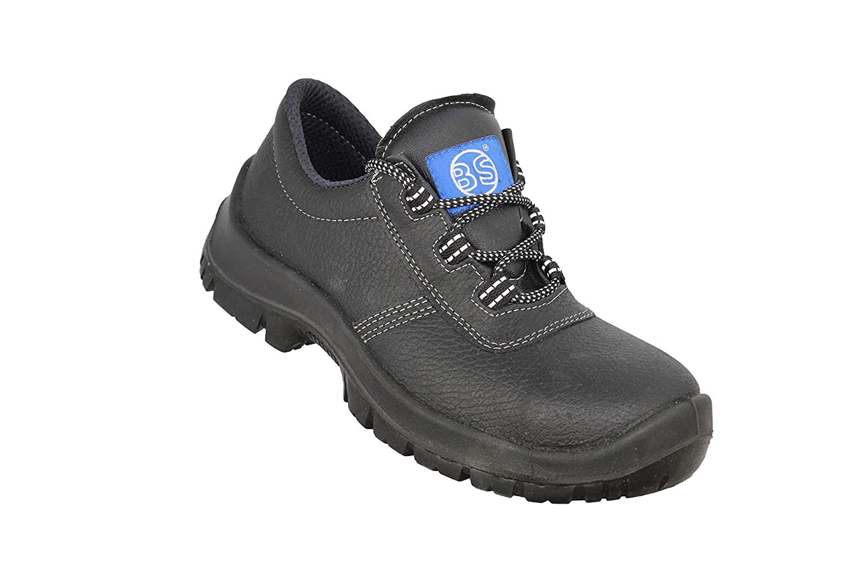 BS Safety Shoes Sauerland S3 SRC Sicherheitsschuhe Trekkingschuhe flach Schwarz