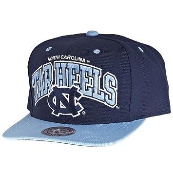 Mitchell   Ness North Carolina Tar Heels Double Up Snapback NCAA Cap   Amazon.co.uk  Sports   Outdoors 38a76e6559
