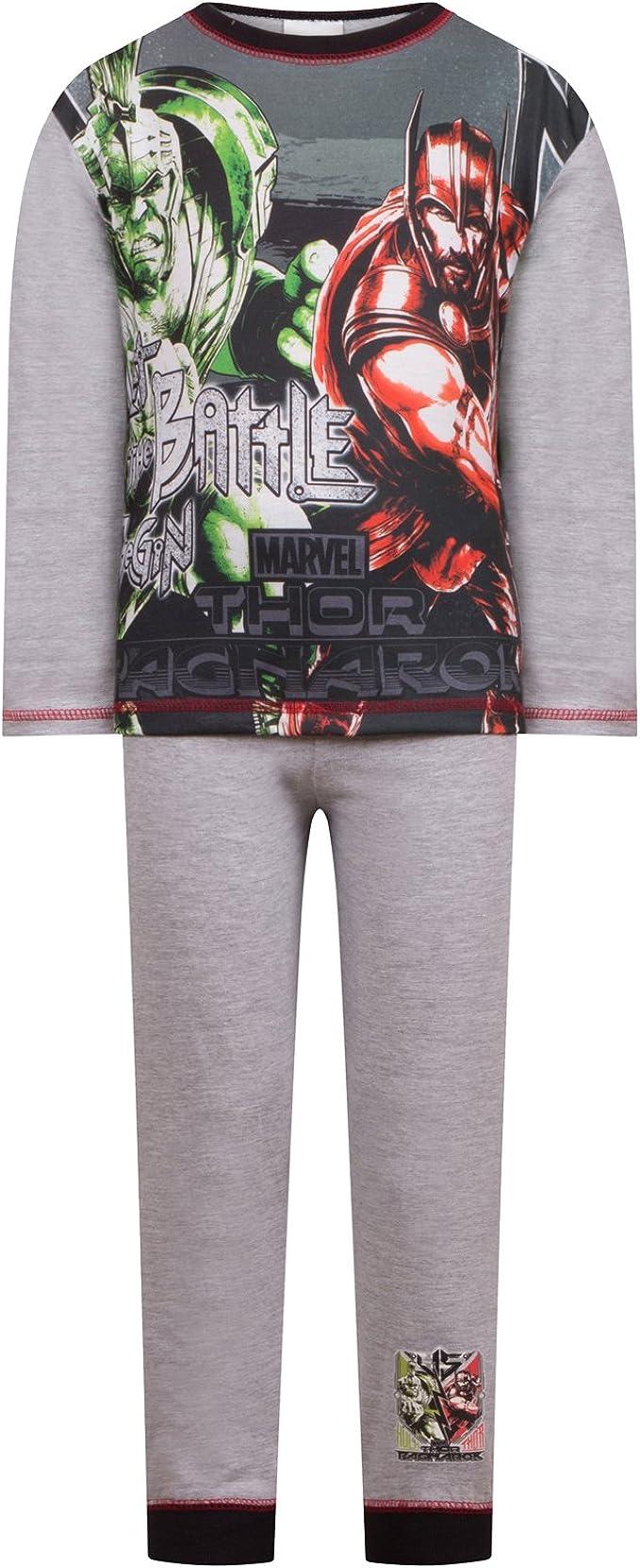 Marvel - Los vengadores - Pijama para niño - Producto oficial - Gris - 4-5 años: Amazon.es: Ropa y accesorios