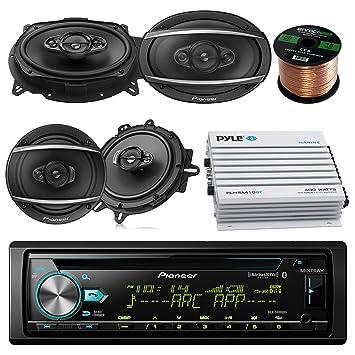 Pioneer dehx-6900bt coche reproductor de CD estéreo de MP3 con Bluetooth AM/FM