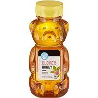 Amazon Brand - Happy Belly Clover Honey, 12 Ounce