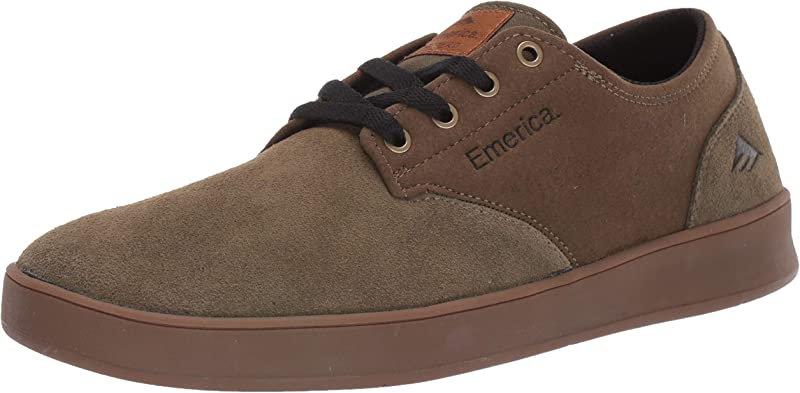 Emerica The Romero Laced Sneakers Herren Olivgrün/Braun