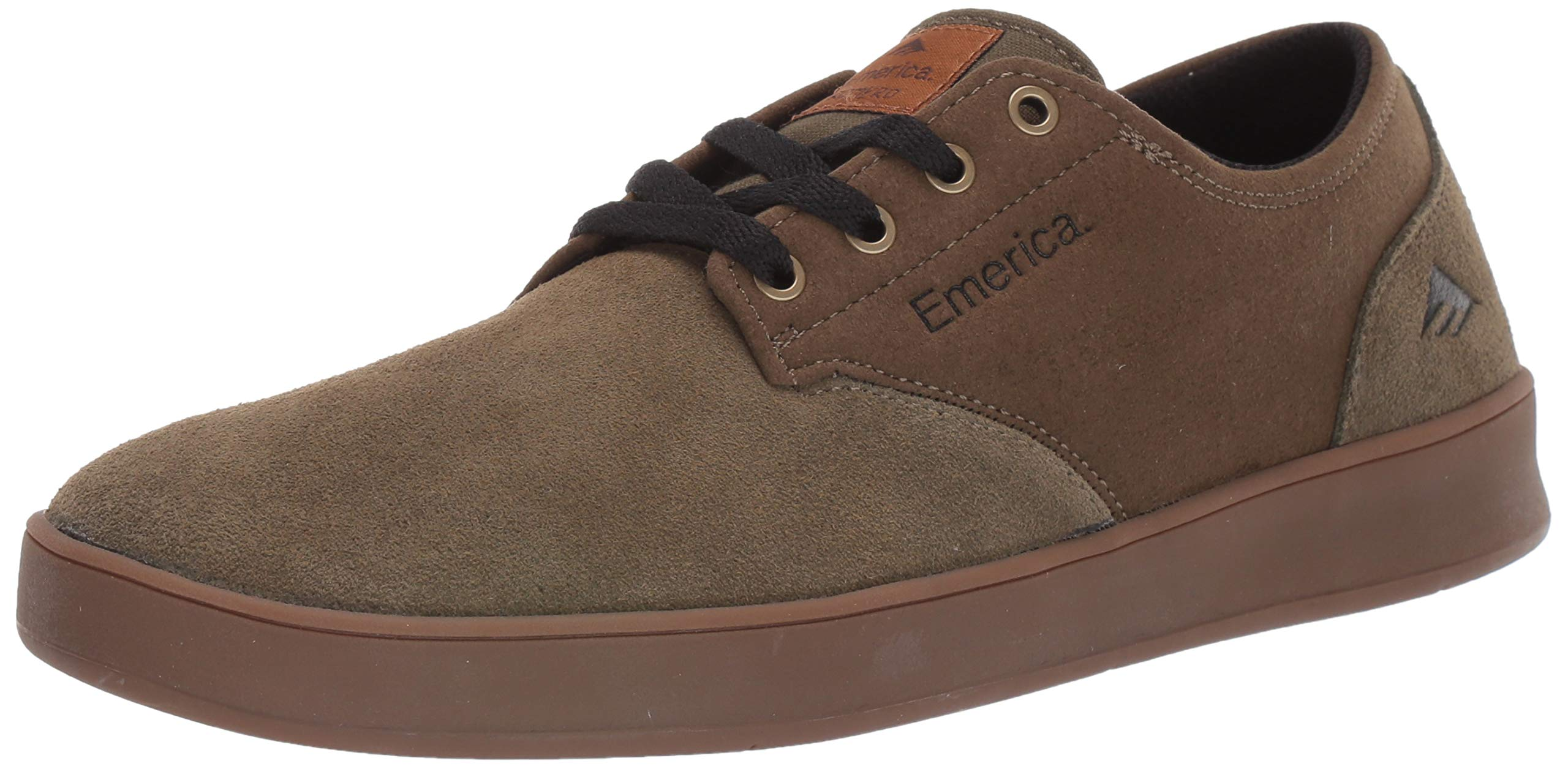 "Men/'s Skating Shoes Dark Grey//Black//Gum Emerica /""The Romero Laced/"" Sneakers"