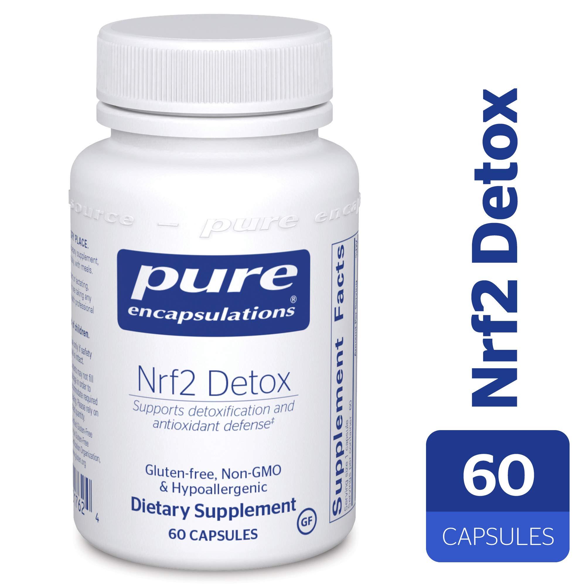 Pure Encapsulations - Nrf2 Detox - Nrf2 and Detoxification Support* - 60 Capsules