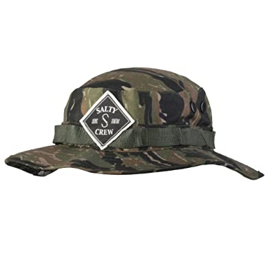 online retailer 57744 c0357 ... best price salty crew mens tippet patched bucket hat tiger camo one  size at amazon mens