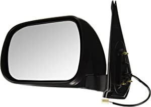 OE Replacement Toyota Tacoma Driver Side Mirror Outside Rear View (Partslink Number TO1320256)
