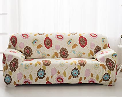 Merveilleux Comforbed High Elasticity Fabric Sofa Slipcover Couch Cover Protector  Three Seater 74 90 Inch
