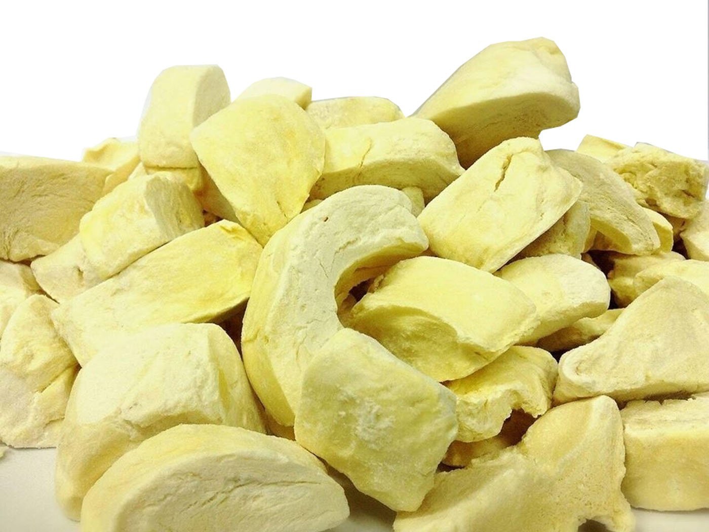 Perfectos Snack 17.5 Oz Natural and Real Fruit 100% Vacuum Freeze Dried Durian Fruit (Monthong) (3.5 Oz X 5 Bags)