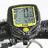 IDEALEBEN Cycling Computer wireless biciclette digitale impermeabile Contachilometri contagiri automatico sveglia