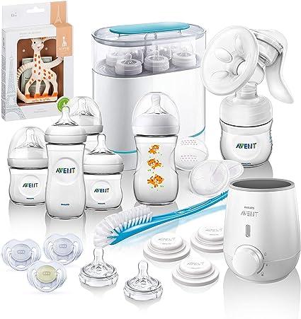 Philips AVENT naturnah Starter Juego de mega Incluye Esterilizador, leche Bomba, calentador de botella: Amazon.es: Bebé