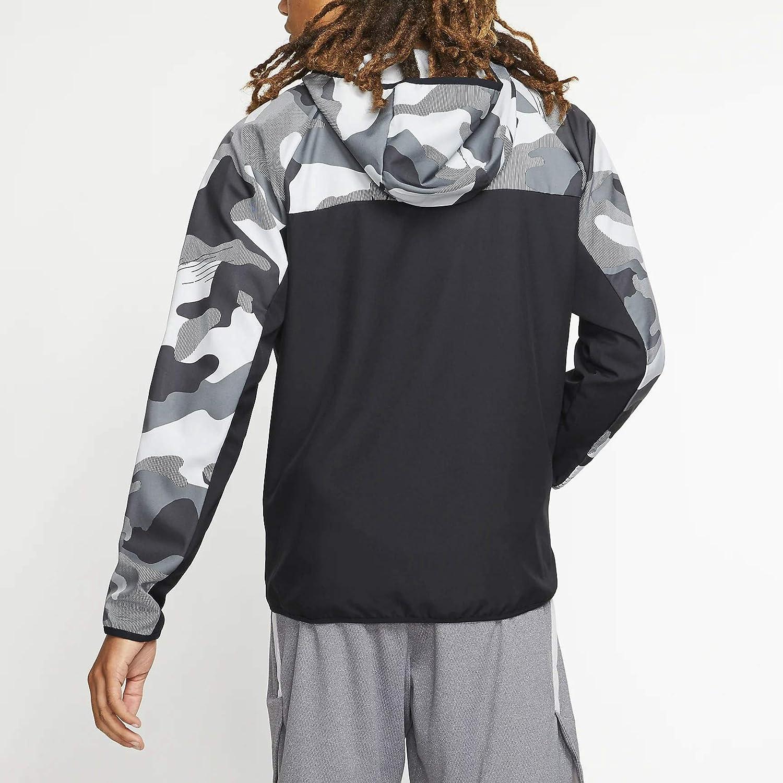 COOKI Mens Casual Skull Printed Zip up Long Sleeve Fashion Hoodie Hooded Long Trench Coat Jacket Parka Zipper