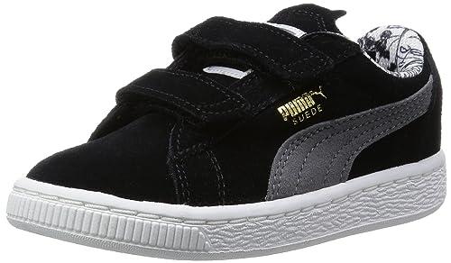 Puma Suedebatmanvinff6, Botines de Senderismo para Bebés, Negro (Blk 01Blk/S.Grey 01), 26 EU: Amazon.es: Zapatos y complementos