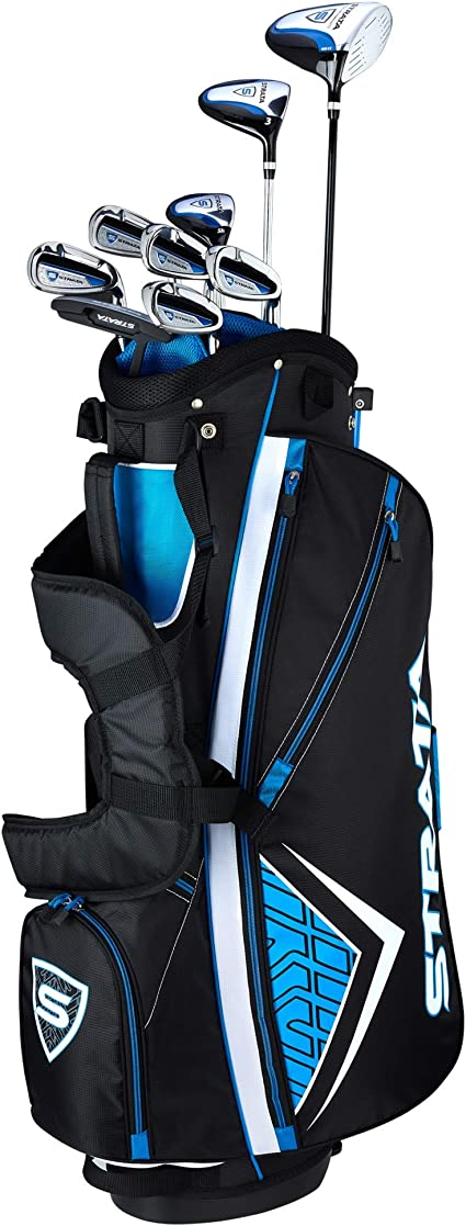 Callaway Men's Strata Complete Golf Set (12 Piece) best golf club set