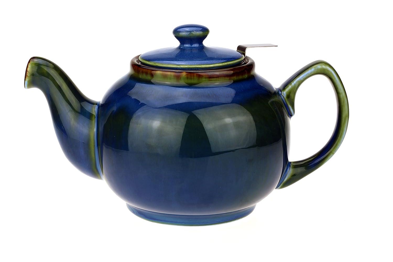 'Théière/Teapot forme classique Anglais en céramique avec pas de tropfendem Bec verseur