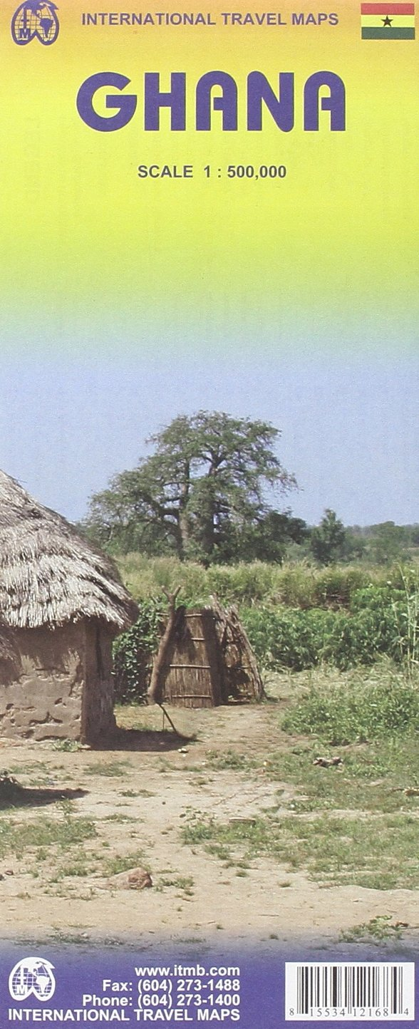 Ghana 1:500, 000 Travel Map (International Travel Maps): ITM ...