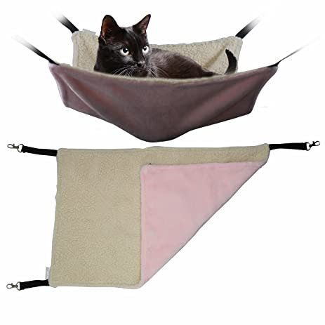 mycat deluxe cat hammock   fits cat tree window tower bed   your amazon     mycat deluxe cat hammock   fits cat tree window      rh   amazon