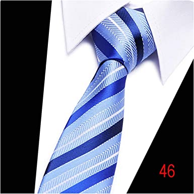 Slim Solid Plain Skinny Necktie Silk wedding Tie