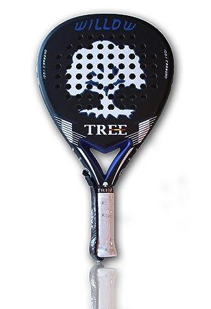 TreePadel-Pala de Padel Modelo Willow 2018 - Negra y Azul: Amazon.es: Deportes y aire libre