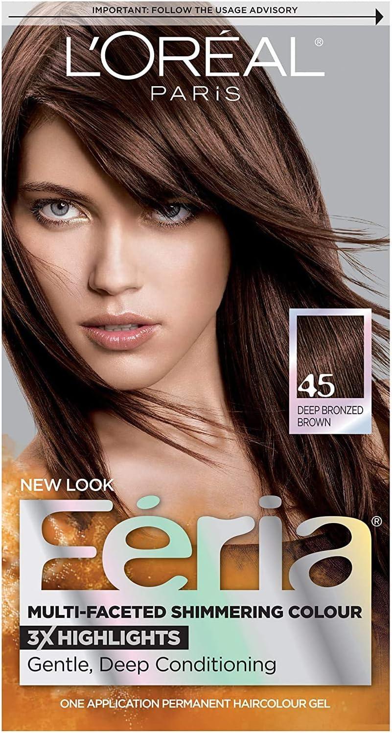L Oreal Loreal, Feria haircolour 45 francés asado: Amazon.es ...