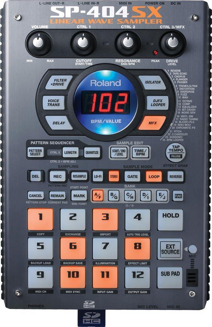 Roland SP404SX - Sp404 sx caja de ritmos: Amazon.es: Instrumentos ...