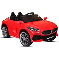 GetBest Z4 12V Battery Operated Ride on for Kids with Swing Option, Lights and Music System