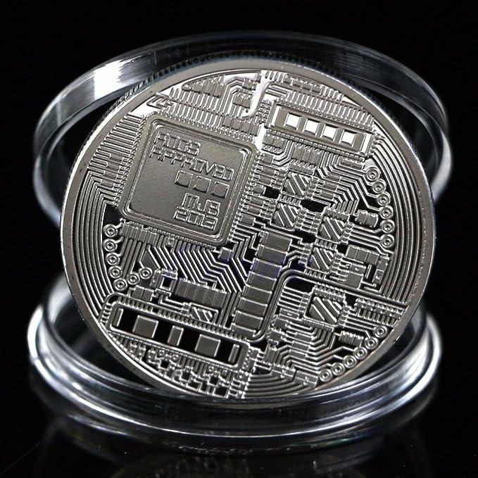 Amazon.com: Bitcoin novedad coleccionistas serie moneda por ...
