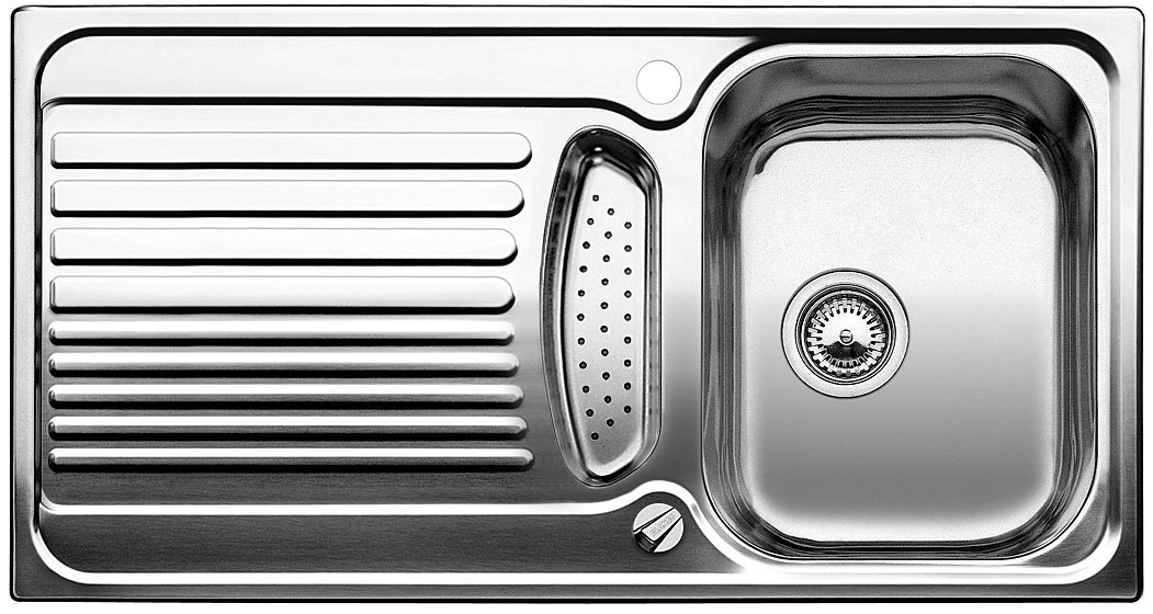 Blanco Toga 5 S, Küchenspüle, Edelstahl Naturfinish, 1 Stück, 512640 ...