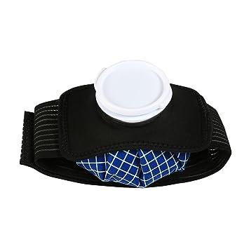 LEADSTAR 6 Pulgadas Bolsas de Hielo para Terapia de Frío Paquete de Tratamiento Caliente / Frío Reutilizables Primeros Auxilios Deportivos para ...