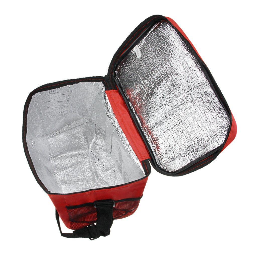Glaci/ère Sac Isotherme Portable Sac de Plage pour Famille Pique-nique Barbecue Repas en Ext/érieur Sac Lunch Bag Isotherme Sac /à Camping//Repas//D/éjeuner//Picnic Sac Sport Sac de Rangement des Aliments