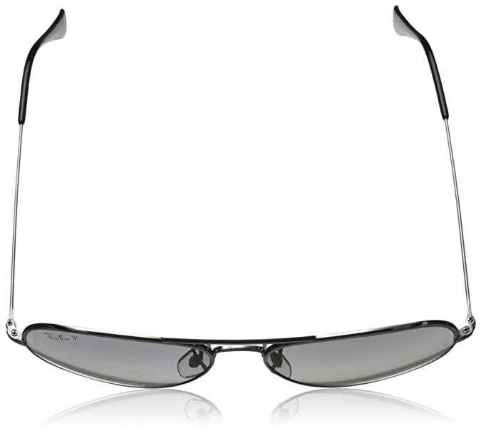 4dde7f4611 Amazon.com  Ray-Ban Men s Aviator TM Titanium Polarized Oval