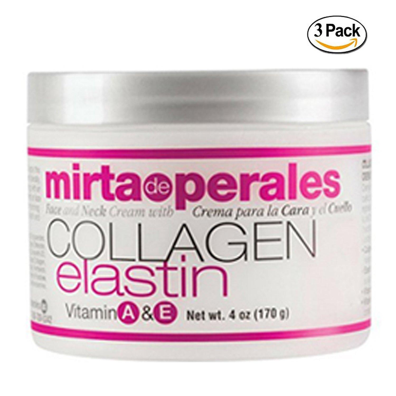 Amazon Mirta De Perales Collagen Elastin Cream 4 Ounce