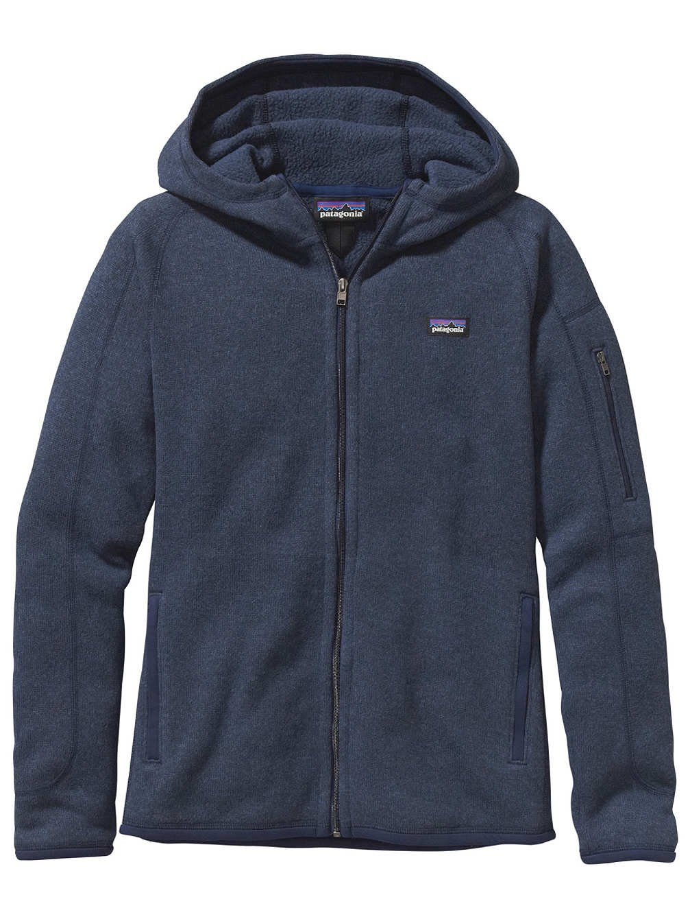 Patagonia Better Sweater Full-Zip Hooded Jacket - Women's Classic Navy, XS