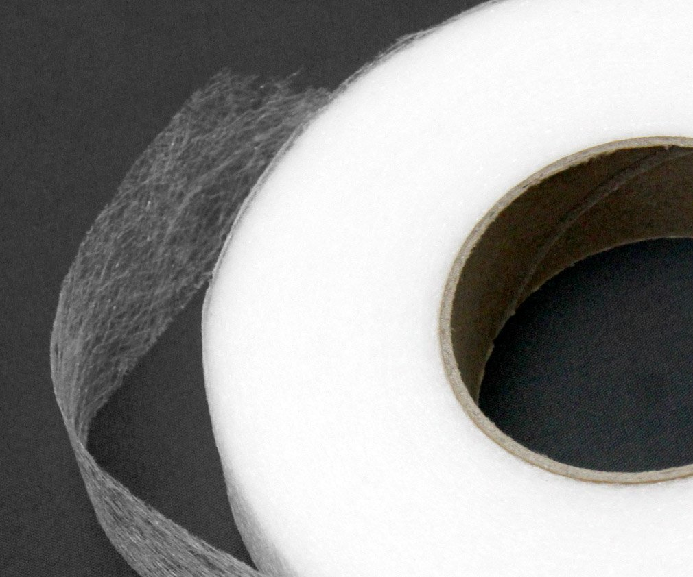 1PC 64M Instant Fusible Hemming Web 1.5cm PA Iron-on No Stitching Home Tailoring