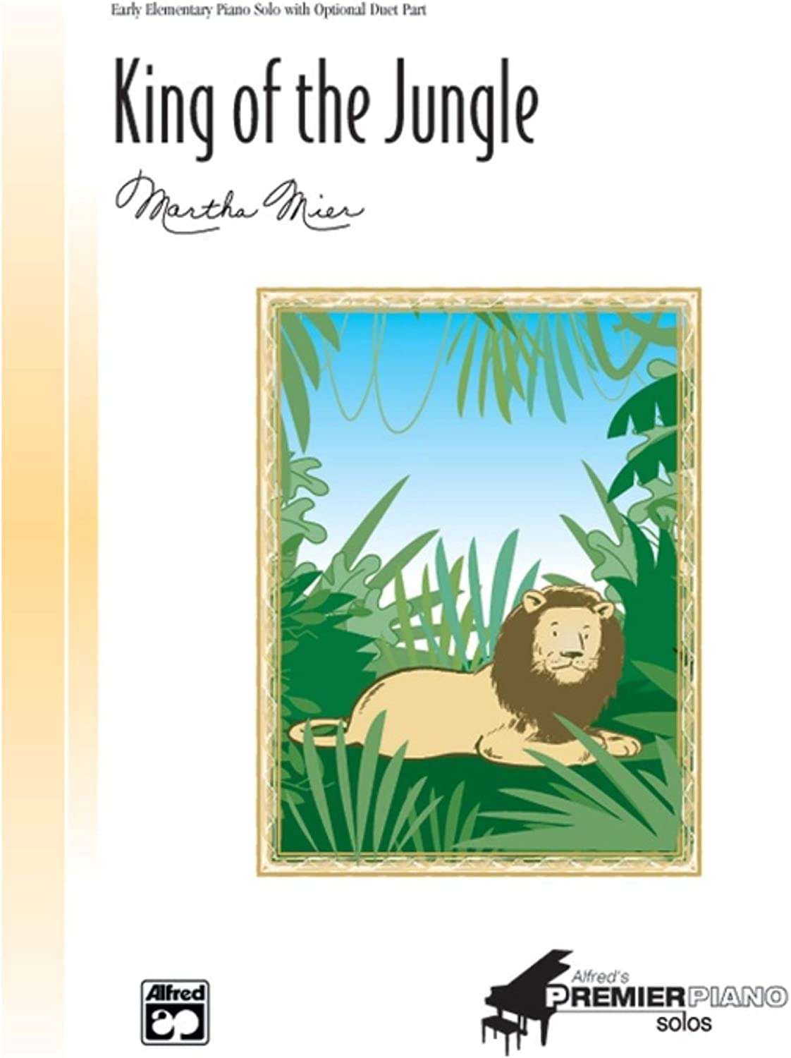 King of the Jungle Sheet