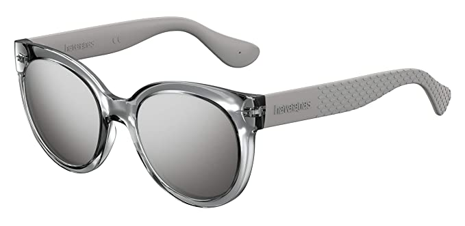 Havaianas Noronha Gafas de sol, Plateado (Silver), 52 para Mujer