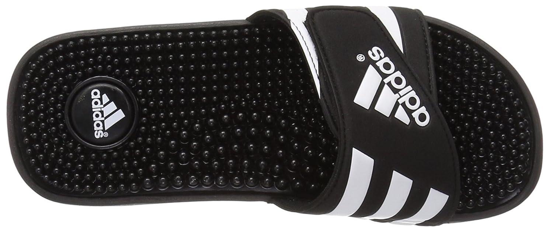 adidas Originals Mens Adissage Sandal 3 M US Black//Black//White