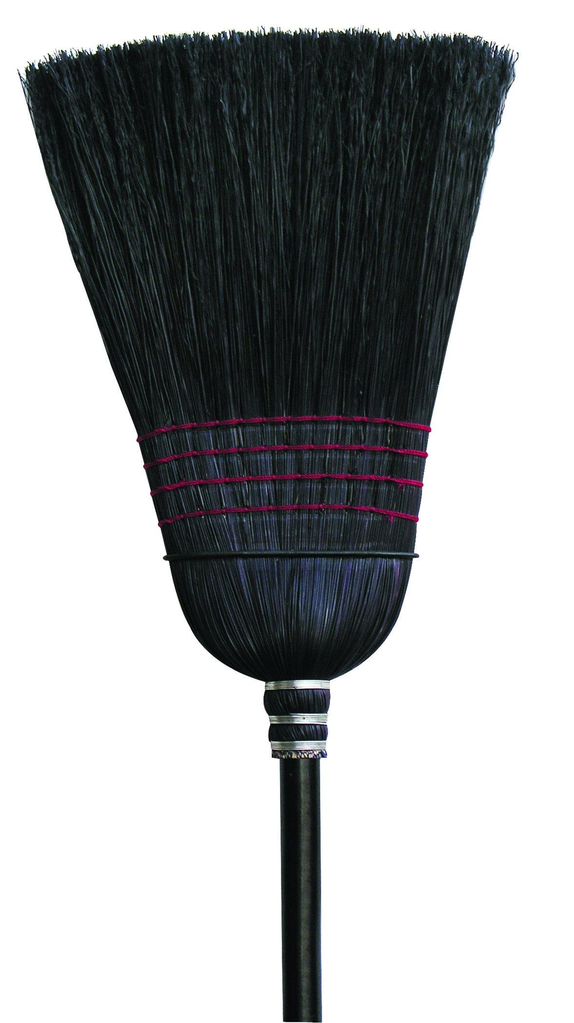 O'Cedar Commercial 6118-6 Warehouse Black Corn Broom (Pack of 6) by O-Cedar Commercial