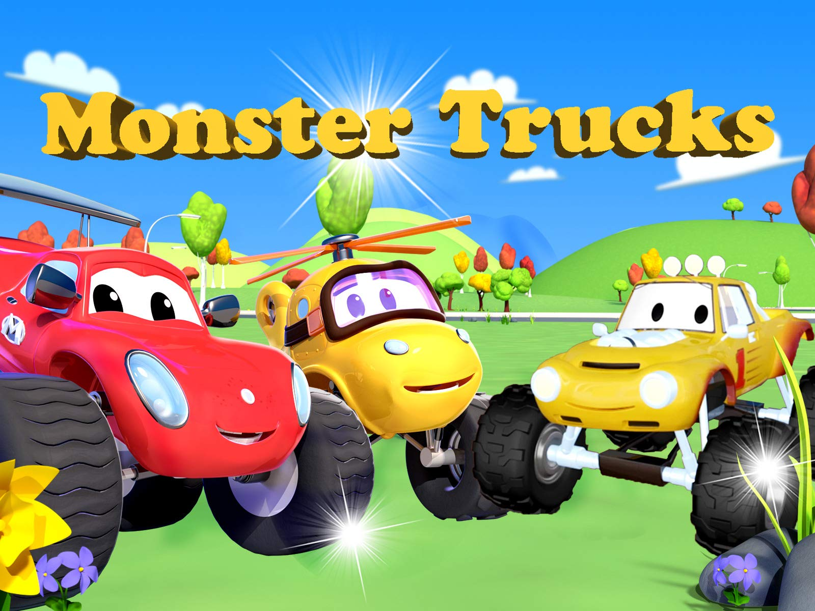 Watch Monster Trucks Truck Cartoon For Kids Prime Video