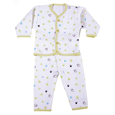53fa2d0ef Zonko Style Baby Cotton Unisex Outfit (ZBS53OLIVE White) (0-1 Year ...