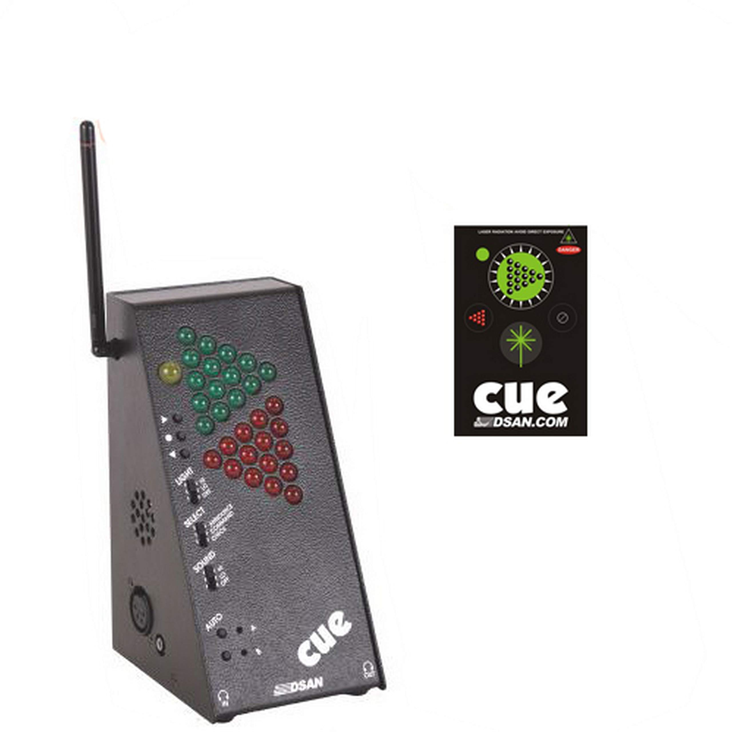 DSAN PC-433BP-SYS PerfectCue Light and Sound Signaling System with 3-Command Button Remote by DSAN (Image #1)