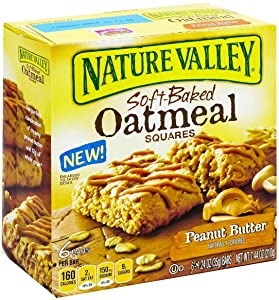 Soft-baked Oatmeal Squares, Peanut Butter (Pack of 3)