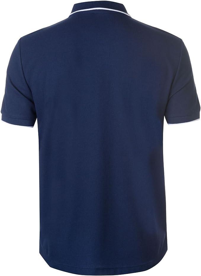 Lonsdale Hombre GB Camisa Polo De Boxeo Manga Corta Azul Marino ...