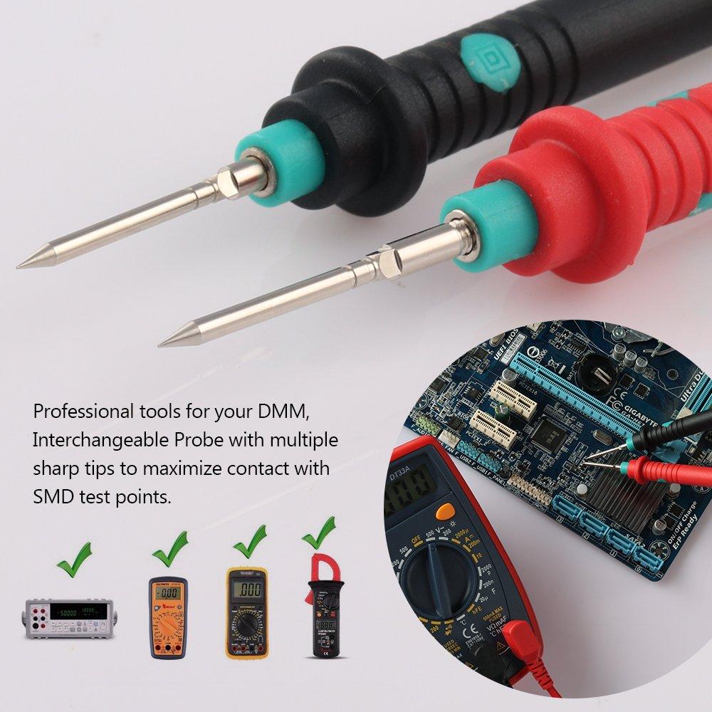 Micsoa Multimeter Test Leads Kit, Digital Multimeter Leads